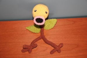 #069 Bellsprout by pokecrochetchallenge