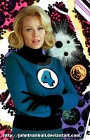 Gail O'Grady as Sue Storm by johntrumbull