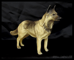 Hartland Plastics - Bullet German Shepherd Dog by The-Toy-Chest