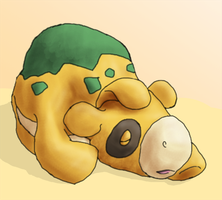 Sleeping Numel by Arbre