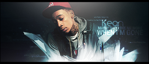 Wiz Khalifa signature by me by aivis001