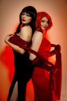 Sunstone cosplay - Lisa and Ally by Linamohl