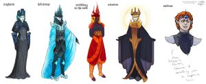 Melkor- Outfit Variations by RivkaZ