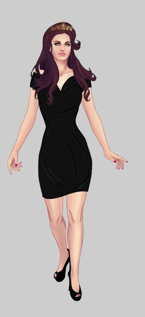 Ivy's Wardrobe: Little Black Dress by AleraianPrincess