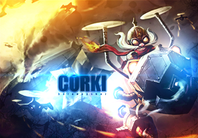 League Of Legends - Corki by murkis8888