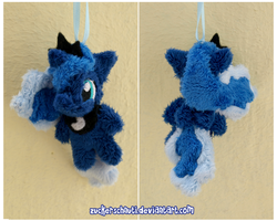 Princess Luna S2 Keychain by zuckerschnuti