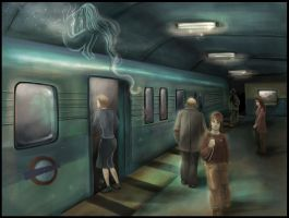 Subway - Commissioned Piece by lizzbuenaventura