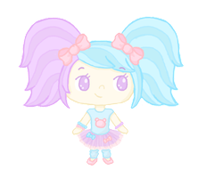 OC: Kiana chibi [OUTDATED] by Cupcake-Kitty-chan