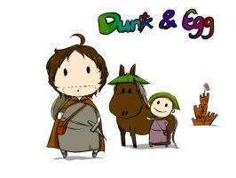 Dunk and Egg by eilian