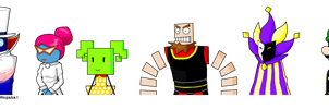SPM_HS RPG-styled Count Bleck and minions by Chivi-chivik