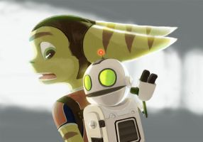Ratchet and Clank by green-parrot