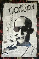 Dr. Hunter S. Thompson by mikeoncley