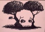 Just trees my Arse by Tyshea