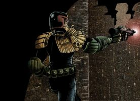 Judge Dredd 3- Colour by JonniO