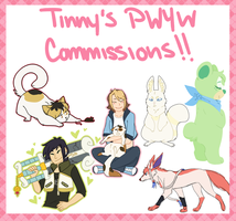 Pwyw commissions! by Tinnypants