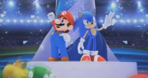 Mario and Sonic by FJOJR