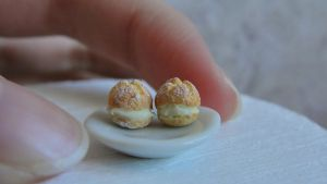 Miniature profiteroles 2 by AGTCT