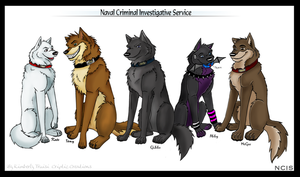 Canine NCIS by LunarCheza