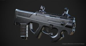 Magpul PDR with Troy Sights by Tom3dJay