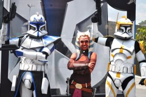 Ahsoka and Crew by BellesAngel