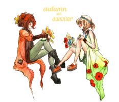 summer and autumn by SociopathDemon