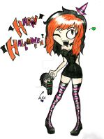happy halloween by ProsaicProtrusion