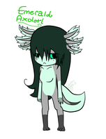 New Character: Emerald by C-H-I-Z-U