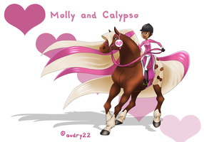 Molly and Calypso by audry22