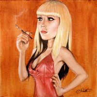 FOR SALE! The Scarlet Lie by DrSizzle