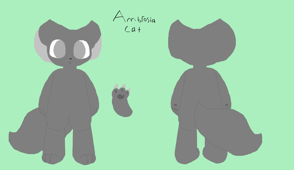 Ambrosia cat (basic species) by Starthewitch
