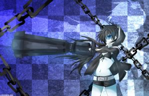 Black Rock Shooter by kurelenka