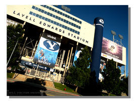 Lavell Edwards Stadium by WillFactorMedia