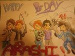 Happy Birthday Arashi!! (15-09) by LauZaky