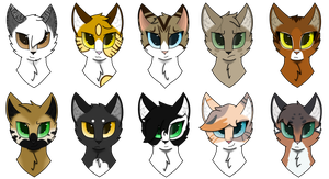 [LUtT] Head-shot Requests by Ashy-Blitz