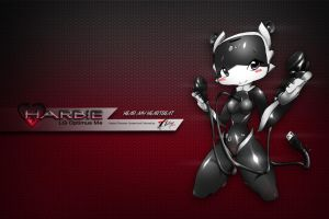 Wallpaper HARBIE by Adry53