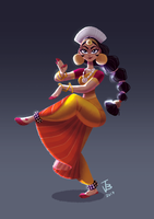 CDC Indian Dancer by julbrossi