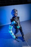 Raiden prepares to drain the electrolytes by Cosplay4FunUltimate
