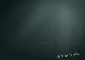 Chalkboard Background by Solacen