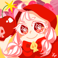 cookie run - cherry cookie by dddrop