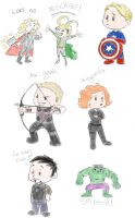 Avengers Doodles by Phobic42