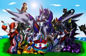 1 YEAR ANNIVERSARY - TFP PONIES! by DJMoonRay