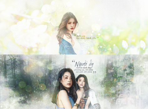 [Photo Quote] Han HyoJoo  Naeun by linhchinie