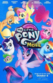 New My Little Pony: The Movie Sea Ponies Poster by Artlover67