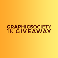 Graphic Society's 1K Giveaway by Graphic-Society