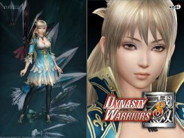 DW8 Wallpaper - Wang Yuanji by Koei-Warrior
