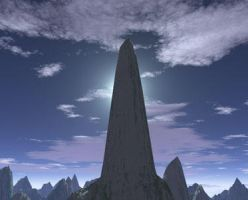 Pointing to the Sky by Eleri