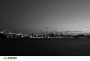 SF Skyline - BandW by TopherGentry