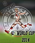 Germany World Cup 2014 by RayaWolf