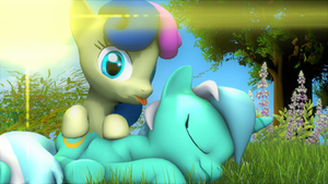 Happy hearts and hooves day by DJ-Chopin
