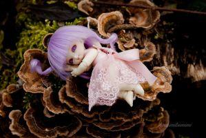 Resting Fairy by HachimitsuMimi
